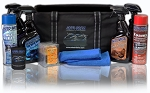 Auto Brite Detail Bag. Customize with 4 32 Oz. Products and 2 Aerosols. Also Included is a 14 Pack Of Assorted Auto Scents Air Fresheners, 1 Coozie, and 2 microfiber towels all for only $49.95!