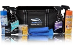 Marine Brite Detail Bag. Customize with 4 32 Oz. Products and 2 Aerosols. Also Included is a 14 Pack Of Assorted Auto Scents Air Fresheners, 1 Coozie, and 2 microfiber towels all for only $49.95!