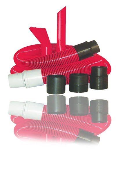 15' Vacuum Hose Kit W/ Crevis Tool, Claw Plus Fittiings