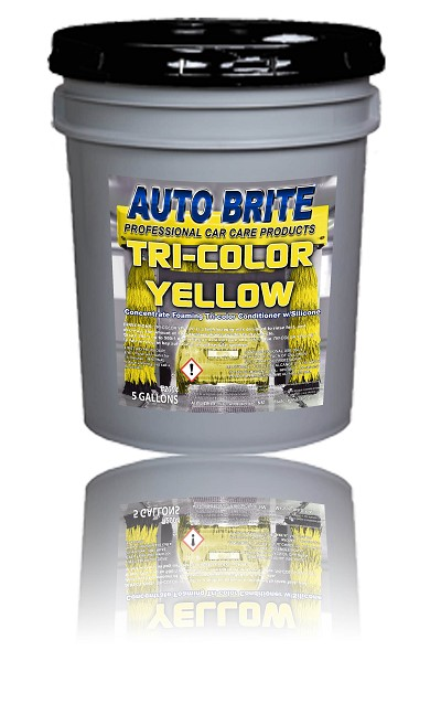 Tri-Color Yellow Foaming Wax